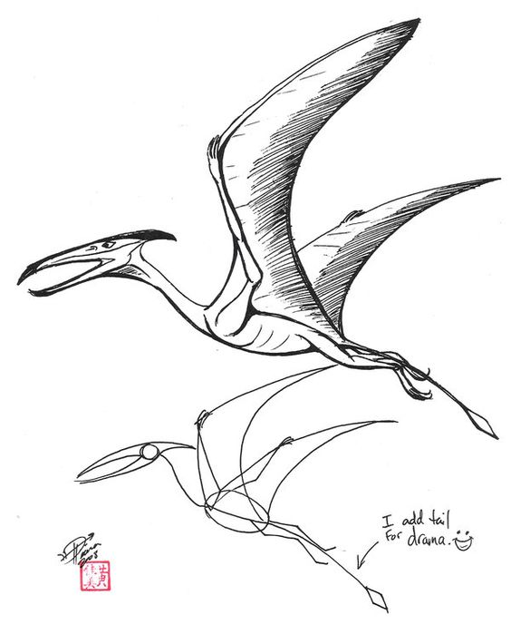 Living Pterosaurs Pterodactyls By Glen J Kuban
